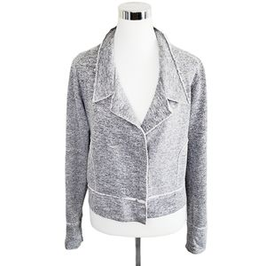 Dolan Zippered Grey Jacket Medium